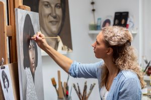 Miranda pronk artist art kunstenaar kunstenares kunsten artwork painter drawing drawings art teacher teacher docent tekenen schilderen instructor cursus workshop schilderles schilderlessen tekenlessen artschool